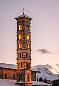 Switzerland, Engadin, St.Moritz: Church St. Karl Borromäus
