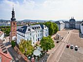 The castle square Saarbrücken, Saarland, Germany