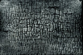 A charcoal surface
