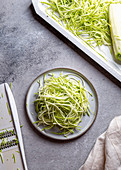 Zoodles - Low carb zucchini noodles