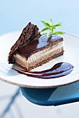 'La Bastide Eygalieres', a triple-chocolate dessert
