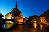 Das Alte Rathaus von Bamberg, Bayern, Deutschland