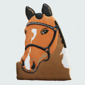A horse head biscuit