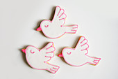 Cookies with a dove motif