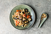 Fried Thai rice and vegetables