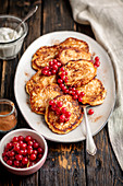 Banana and quark pancakes