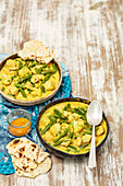 Chicken and cauliflower curry