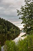 The River Saar, Saarland, Germany