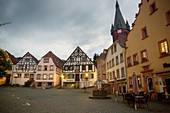 The old town of Ottweiler, Saarland, Germany