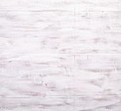 Wooden surface painted white
