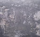 Gray metal surface