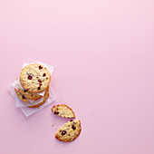 Almond cranberry cookies