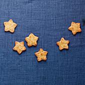 Orange and almond stars
