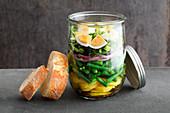 Salad niçoise with egg to take away