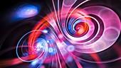 Infinity, abstract illustration