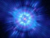 Big bang, abstract illustration