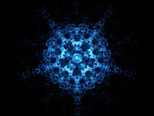 Fifth dimension in space, abstract illustration