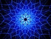 Kaleidoscope, abstract illustration
