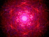 Fusion, abstract illustration