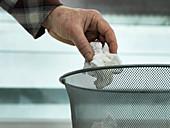Tissue disposal