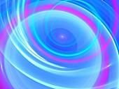 New technologies, abstract illustration