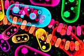 Nanomedicine, conceptual illustration