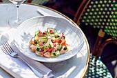 Ceviche mit Barsch und Lachs