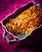 Carrot and fennel gratin