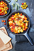 Gnocchi with wild tomatoes
