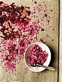 Beetroot salt preparation