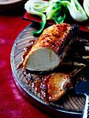 Sticky Asian roast pork