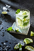 Virgin Basil Mule