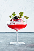 Huckleberry Cocktail