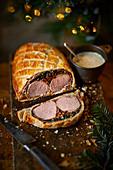 Pork wellington for Christmas