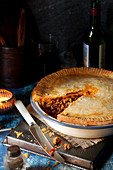 Minced Meat Pie with Shortcrust pastry