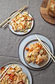 Kimchi (fermentierter Kohl, Korea)