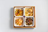 Eingelegtes Gemüse chinesische Art