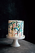 Abstractly Decorated Layer Cake