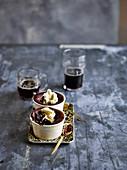 Schokoladenpudding mit Guinness