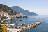 The old harbour, Amalfi, Italy
