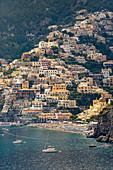A view of Positano, Amalfi Coast, Italy