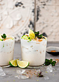 Cucumber and coconut shake