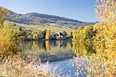 Near Leiwen on the River Mosel, Rhineland Palatinate, Germany