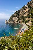 Spiaggia Fornillo, Amalfi Coast, Campania, Italy