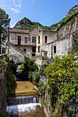 Cartiera Amatruda (a paper mill) in Amalfi, Campania, Italy