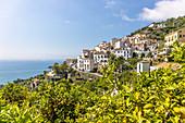 A view of Raito, Vietri sul Mare, Amalfi Coast, Campania, Italy