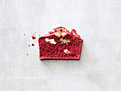 Beetroot bread with walnuts