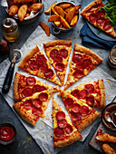 'Pepperoni' pizza