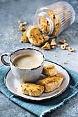 Gluten-free hazelnut cantucci