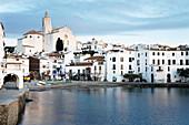 A view of Cadaqués, Costa Brava, Catalonia, Spain
